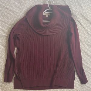 Michael Kors large maroon sweater